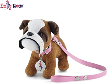 NEW American Girl Doll Rainbow Collar /& Leash Fits Any Size American Girl Pet