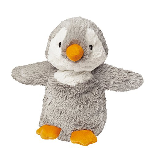Intelex Warmies Microwavable French Lavender Scented Plush Grey Penguin
