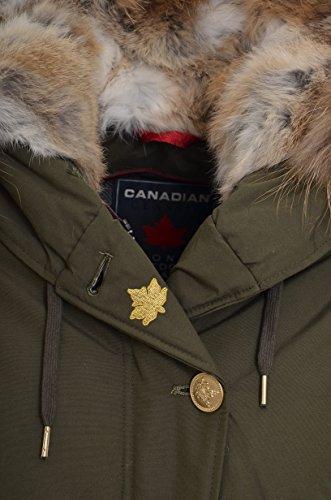 Foncé Vert Manteau Femme Canadian Vert Canadian Femme Manteau Canadian Femme Foncé Manteau Vert qPE5Z