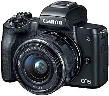 Refurb Canon EOS M50 24.1MP 4K Mirrorless Digital Camera w/15-45mm Lens