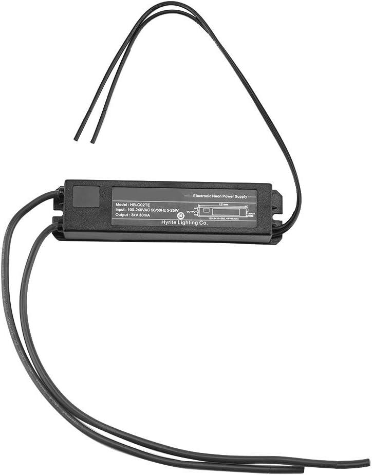 MAGT Neonlichttransformator Neonlichtschild Elektronisches Transformatornetzteil 3KV 30mA 5-25W