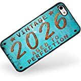 Rubber Case for iphone 5 5s Vintage Year 2026, Born/Made - Neonblond