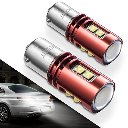 1156 1141 LED Bulb Reverse Lights SEALIGHT 5007 7506 1157 9 CREE LED Chips Back Up Light Extremely Bright Xenon White 6000K - 2002 Pontiac Firebird Convertible