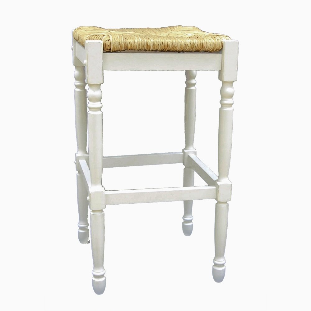 rest bar brass rope seat cottage foot abaca maitland smith rush finished stools avignon with counter stool
