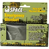 Grabber Outdoors The Original Space Brand Emergency Tactical-Survival Blanket- Olive-Drab/Silver