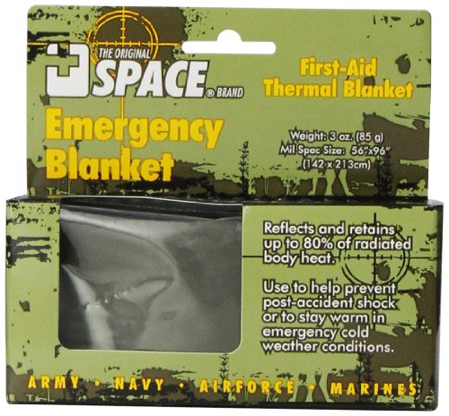 Grabber - The Original Space Brand Emergency Tactical Survival Blanket - Army Green