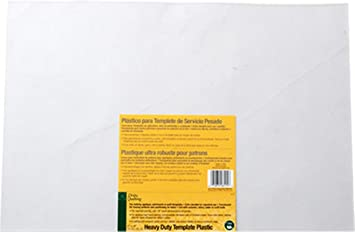 Amazon.com: Dritz Quilting Heavy Duty Template Plastic : template plastic for quilting - Adamdwight.com