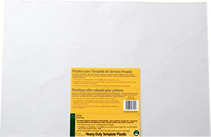 dritz quilting heavy duty template plastic