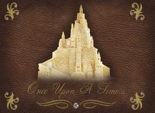 Once Upon A Time...: Elegant Fairy tale Castle Princess design For Events, Wedding, Birthday, Anniversary, Party and More (Tale Fairy Guest Book)