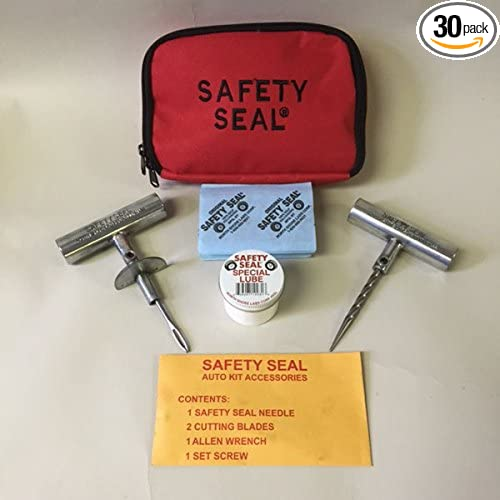 Auto/Light Truck Deluxe Tire Repair Kit 30 Repairs in storable bag North Shore Labs Corp SSKAB30-1