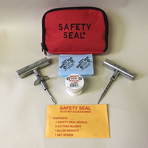 Auto/Light Truck Deluxe Tire Repair Kit 30 Repairs in storable bag by Safety Seal