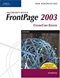 New Perspectives on Microsoft FrontPage 2003, Introductory, (New Perspectives (Course Technology Paperback)) by Jessica Evans (2006-02-19)