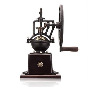 Manual molinillo de café molinillo de café Retro Noria mano crinding máquina: Amazon.es: Hogar