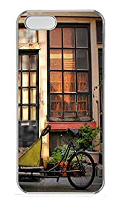 iPhone 5 5S Case Old City Block 2 PC Custom iPhone 5 5S Case Cover Transparent