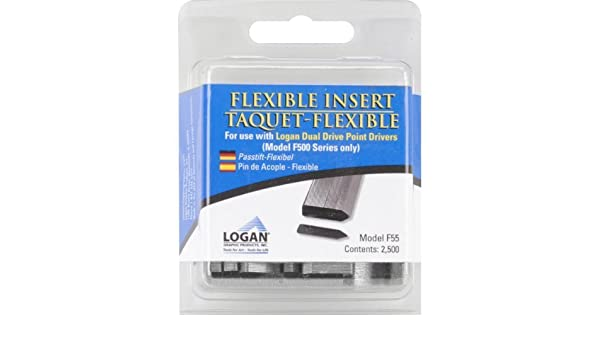 Pack of 2500 Logan F55 Flexible Flexi point inserts for use with F500
