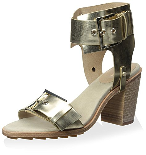 Reeve Zoe Rachel Sandal Gold Block Women's Light Heel qAS1Hx