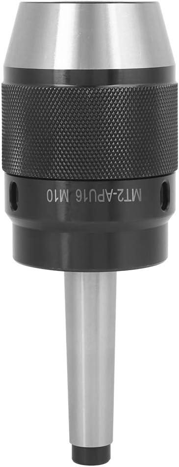 portabrocas sin llave integrado con accesorio de fresadora de v/ástago integrado Herramientas de hardware Portabrocas MT2-APU16-M10
