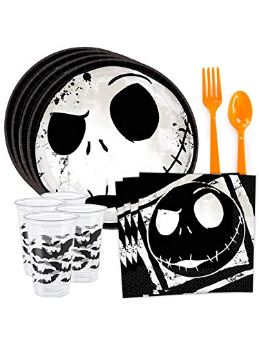 Costume SuperCenter Nightmare Before Christmas Standard Tableware Kit (Serves 8)]()