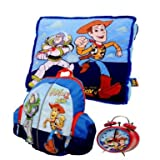 Toy Story 3 Buzz & Woody Gift Pack Cushion Backpack and Alarm Clock Set