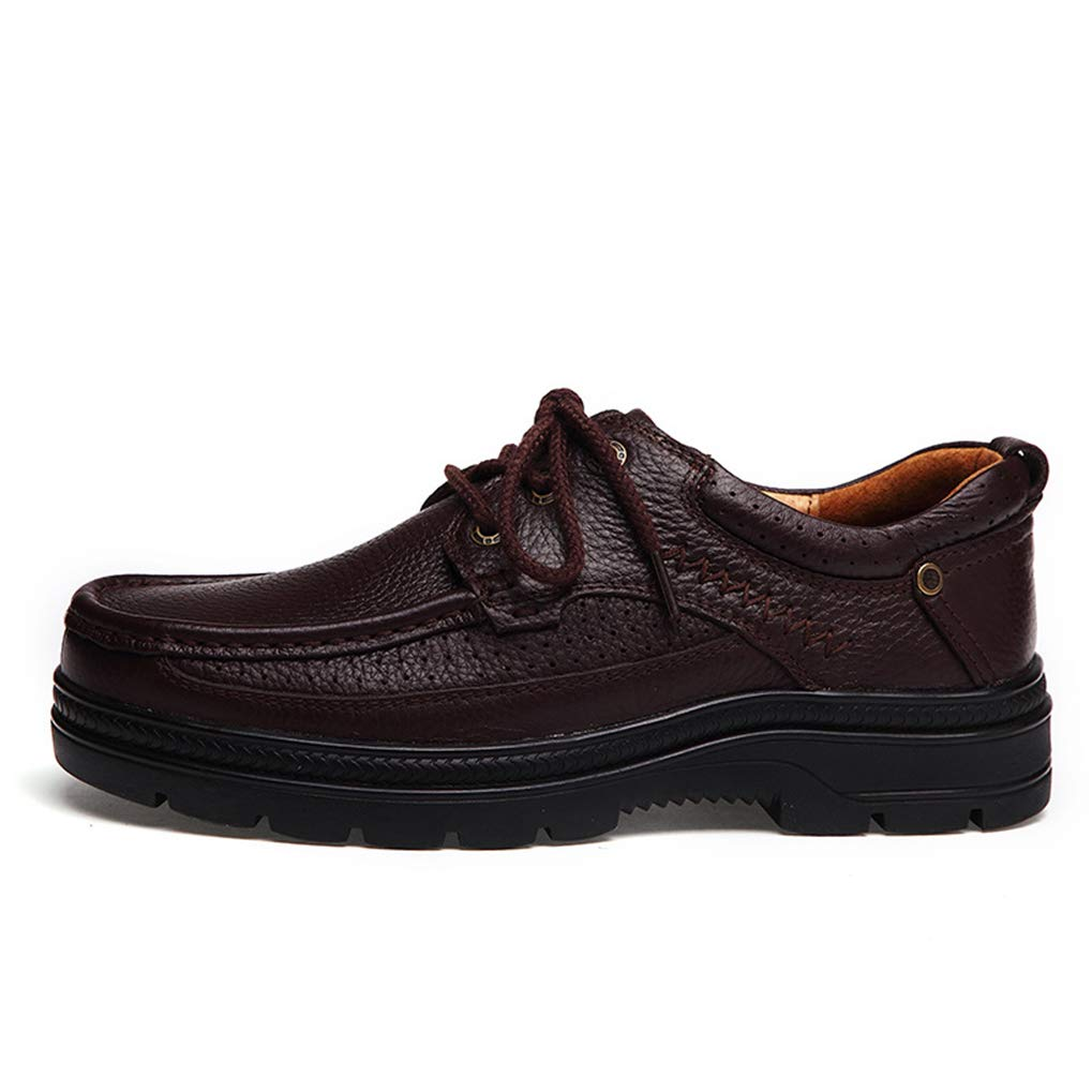 Starttwin Men's Formal Shoes Wear-Resisting Shock Absorption Business Oxford Shoes