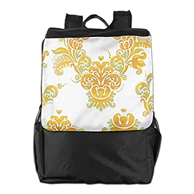 19cf40070b1a delicate Newfood Ss Renaissance Tulip And Fern In Blurry Trippy Watercolor  Outdoor Travel Backpack Bag For