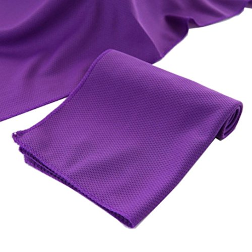 LiPing 30.7×11.4in Fitness Dry Cooling Sports Towel For