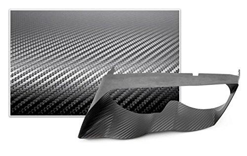 Bezel Overlay - Bimmian DHT46MCBY Carbon Vinyl Headlight Trim Overlay For E46 M3 - Black