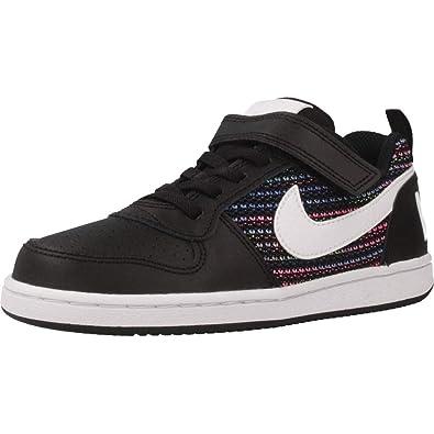 Nike Court Borough Low Se PSV, Zapatillas de Baloncesto para Niños, (Black/White-Volt-Racer Blue 001), 28.5 EU: Amazon.es: Zapatos y complementos