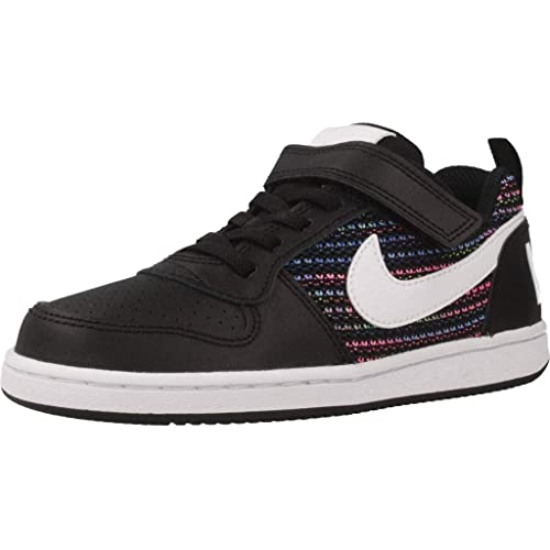 Nike Court Borough Low Se PSV, Zapatillas de Baloncesto para Niños, (Black/White-Volt-Racer Blue 001), 28.5 EU: Amazon.es: Zapatos y complementos