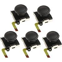 Baosity 5-in-1 Analog Control Joystick Button 3D Rocker Gamepad Thumb Stick for Nintendo Switch NS Controller Repair Parts