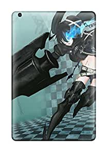 KYxVvuq44lbXJP Anti-scratch Case Cover Ortiz Bland Protective Black Rock Shooter Anime Case For Ipad Mini/mini 2