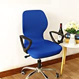 Wall of Dragon Printed flower leaves elastic Computer Office Chair Cover Washable Removable Arm Chair Cover Slipcover Stretch lift Rotating