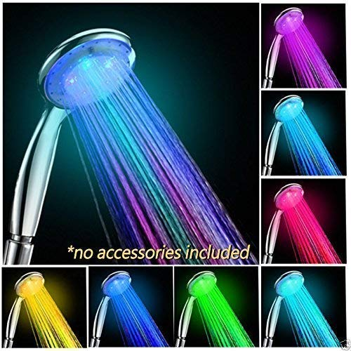 Water Glow Color Led Light Shower Head