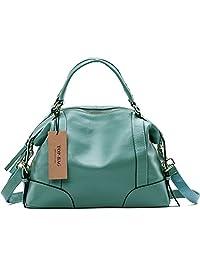 Lovely women ladies' genuine leather tote bag handbag shoulder bag, SF1006