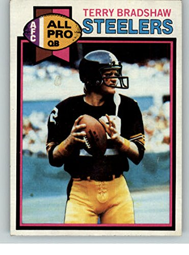 1979 Topps #500 Terry Bradshaw Steelers EX 290533 Kit Young Cards by Topps