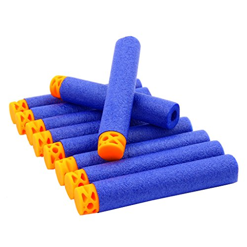 ekind-100-pcs-72cm-new-design-tpr-waffles-soft-head-darts-refill-foam-bullet-for-nerf-n-strike-elite
