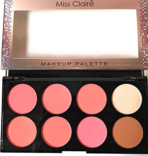 Miss Claire Makeup Palette 3, 16 Grams, Multicolor, 16 g