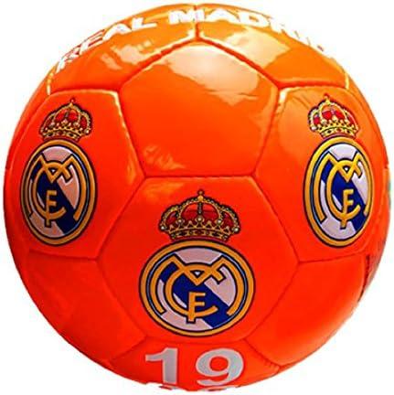 Real Madrid – Gran de balón de fútbol de color naranja ...
