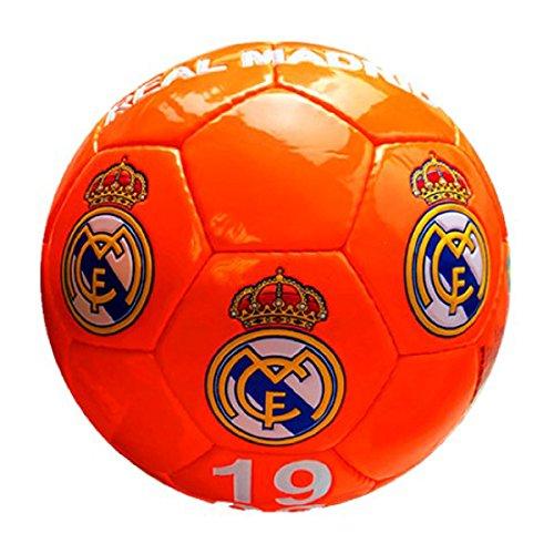 Real Madrid - Gran de balón de fútbol de color naranja ...