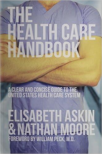 The Health Care Handbook 9780615650937 Medicine Health Science