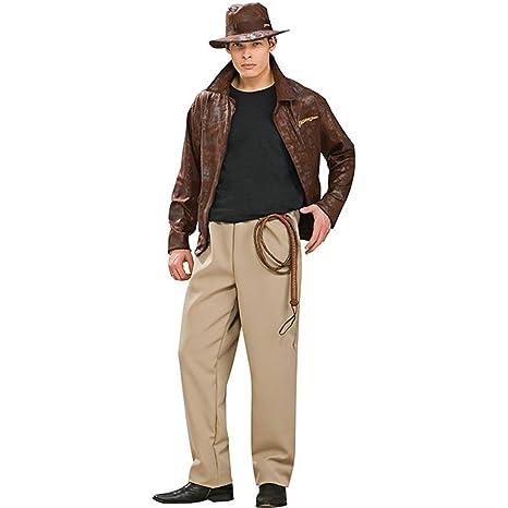 986ef14866c11 Rubies Disfraz de Indiana Jones Deluxe - Adultos  Amazon.es  Ropa y ...