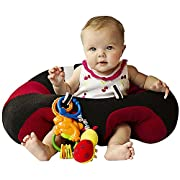 Hugaboo Infant Sitting Chair, Sports Red/Black/White, 3-10 Months