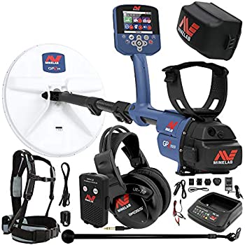 Minelab GPZ 7000 Gold Detector Holiday Bundle with Extra Li-ion Rechargeable Battery