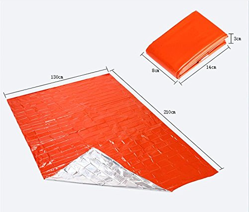 Somine-Emergency-Blanket2-packsReusable-Waterproof-BlanketDesigned-with-up-to-90-Heat-RetentionFirst-Aid-Color-Bright-OrangeSize-83-X52
