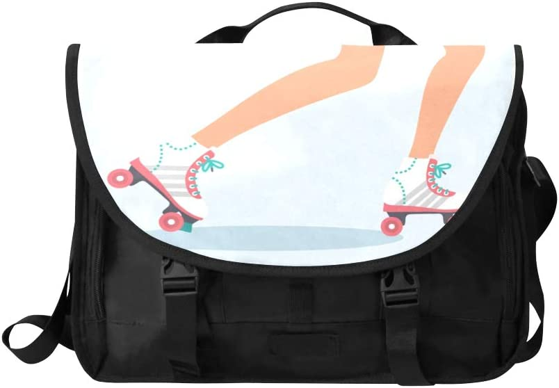 Laptop Briefcase Sports Roller Skate Shoes Multi-Functional Women Laptop Bag Fit for 15 Inch Computer Notebook MacBook