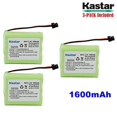 Kastar 3-PACK AA3 3.6V 1600mAh MSM Ni-MH Rechargeable for sale  Delivered anywhere in USA