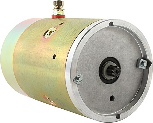 New Dc Pump Motor For Dell Maxon Fenner Stone Snowaway More 1175-AC, 1185-AC, 1785-AC, 1787-AC, 1931-AC, PRESTOLITE 46-4048, MUE6114S A150265 1303590 25169 1175-AC 430-01003 - DB Electrical LFS0001