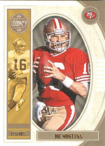 2019 Panini Legacy #103 Joe Montana NM-MT San Francisco 49ers Officially Licensed NFL Football Trading Card (Joe Montana Football Trading Card)