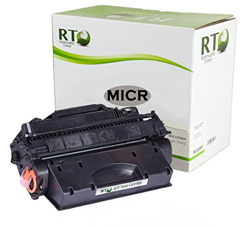 Renewable Toner 80X Compatible MICR Toner Cartridge Replacement HP CF280X for HP LaserJet Pro 400 M401 M425 Series