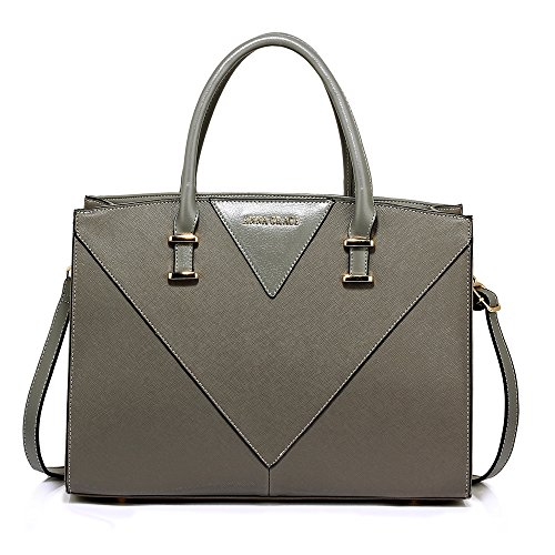 Look you Handbags Look Gorgeous New Design College Gives Office Grey Faux 1 Womens Leather Use Ladies Shoulder Designer Large Daily Bags ZzXTzq